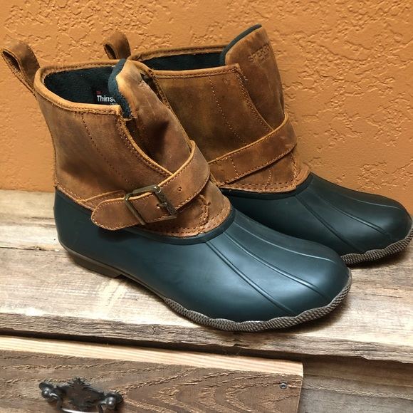 Sperry Shoes   Rare Duck Boots Hunter